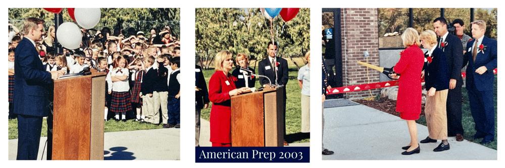 American Prep 2003 Ribbon Cutting