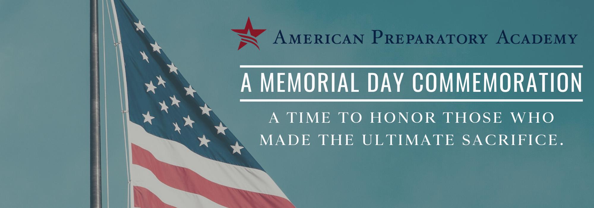 Web Banner Memorial Day - No Link